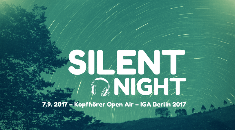 Silent Night – Kopfhörer Open Air