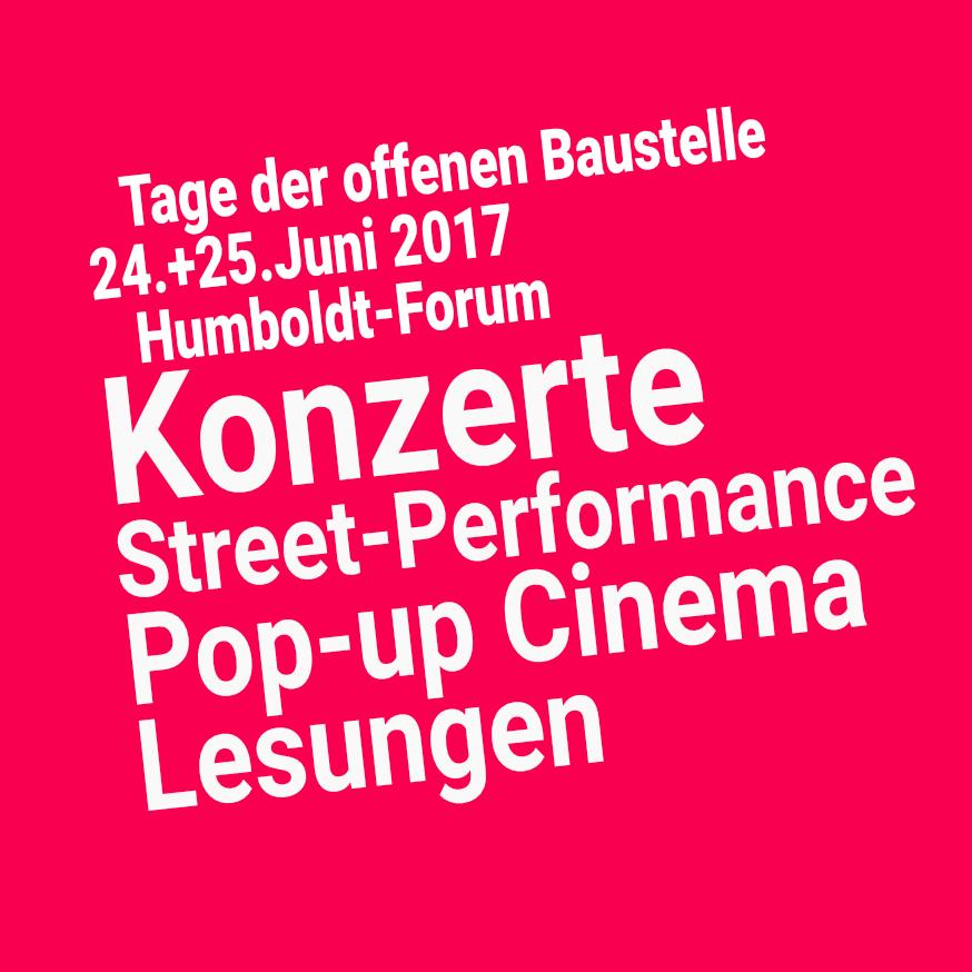 Humboldt Forum, Stadtschoss, Berliner Schloss, Konzerte, Kultur, Baustelle