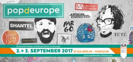 popdeurope, Festival, Shantel, Riders Connection, Adam Wendler, Beranger, IGA Berlin, Internationale Gartenausstellung