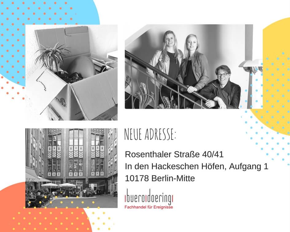 Hackesche Höfe, Berlin-Mitte, Büro, Adresse, Kontakt, Büro Döring, buero doering, Fachhandel für Ereignisse