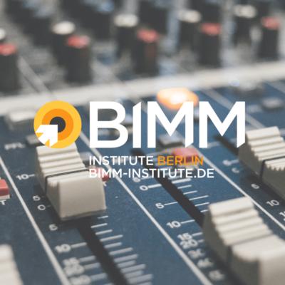 BIMM Berlin, Musik, Music, Ausbildung, Studium, Gitarre, Schlagzeug, Musikbusiness, Producer, Uni, Music Academy