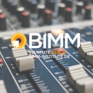 Music College, Musikschule, Hochschule, Ausbildung, Uni, BIMM Berlin, Music Institute, Noisy Academy, Berlin, Musikbusiness, Studium