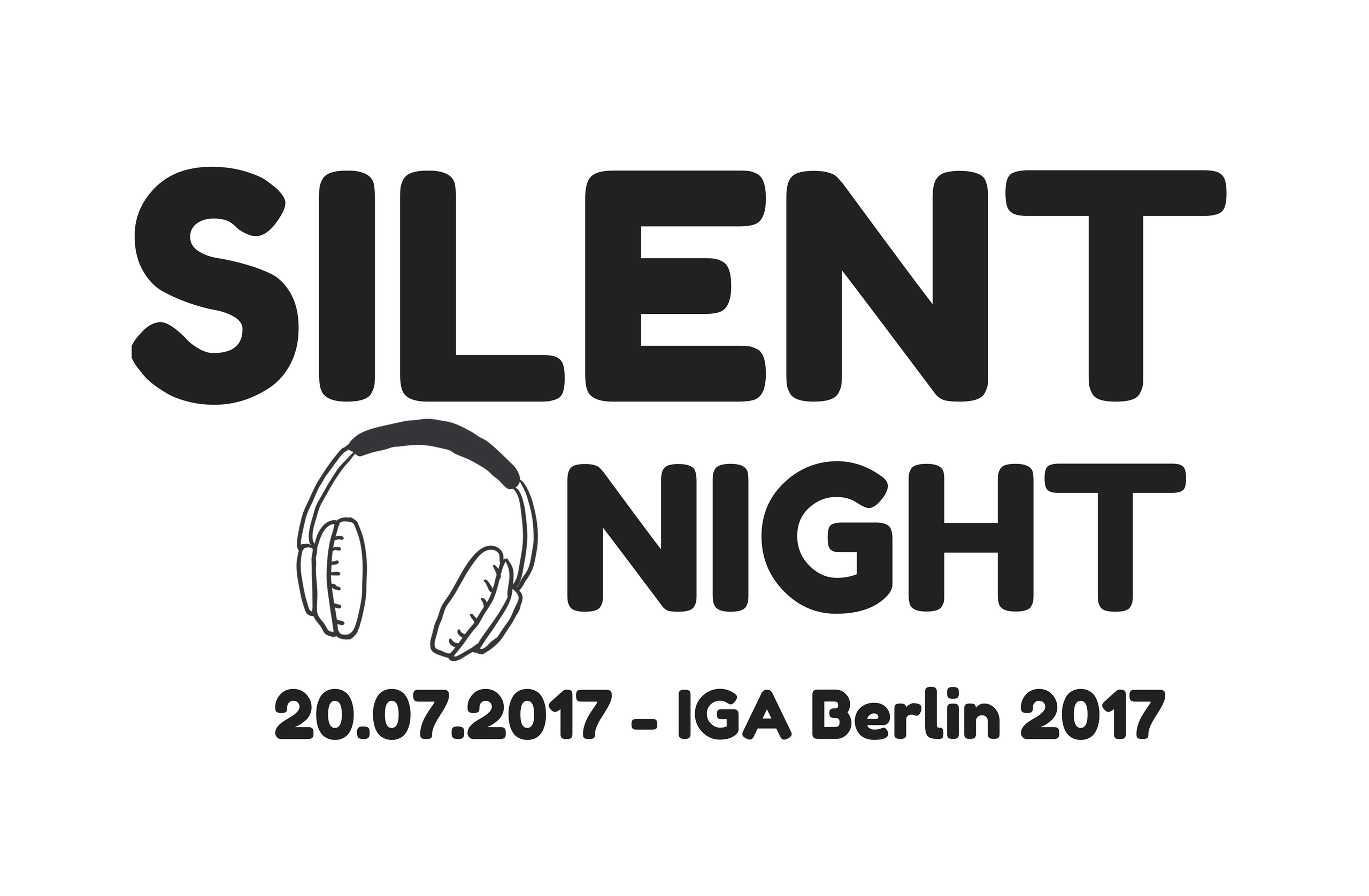 Silent Night Kopfhörer Open Air IGA Berlin 2017