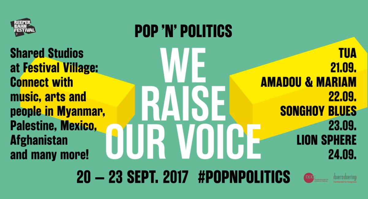 Pop'n'Politics | Reeperbahn Festival 2017