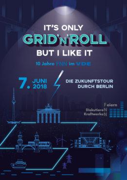 GRID 'N' ROLL | 10 Jahre FNN im VDE | buero doering - Fachhandel für Ereignisse