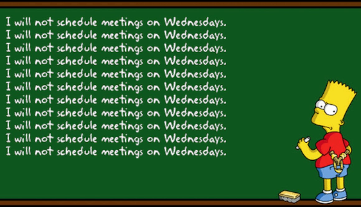 Blog | No Meeting Wednesday | buero doering - Fachhandel für Ereignisse