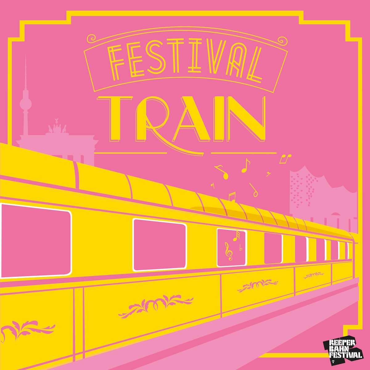 Reeperbahn Festival Train 2018 | buero doering