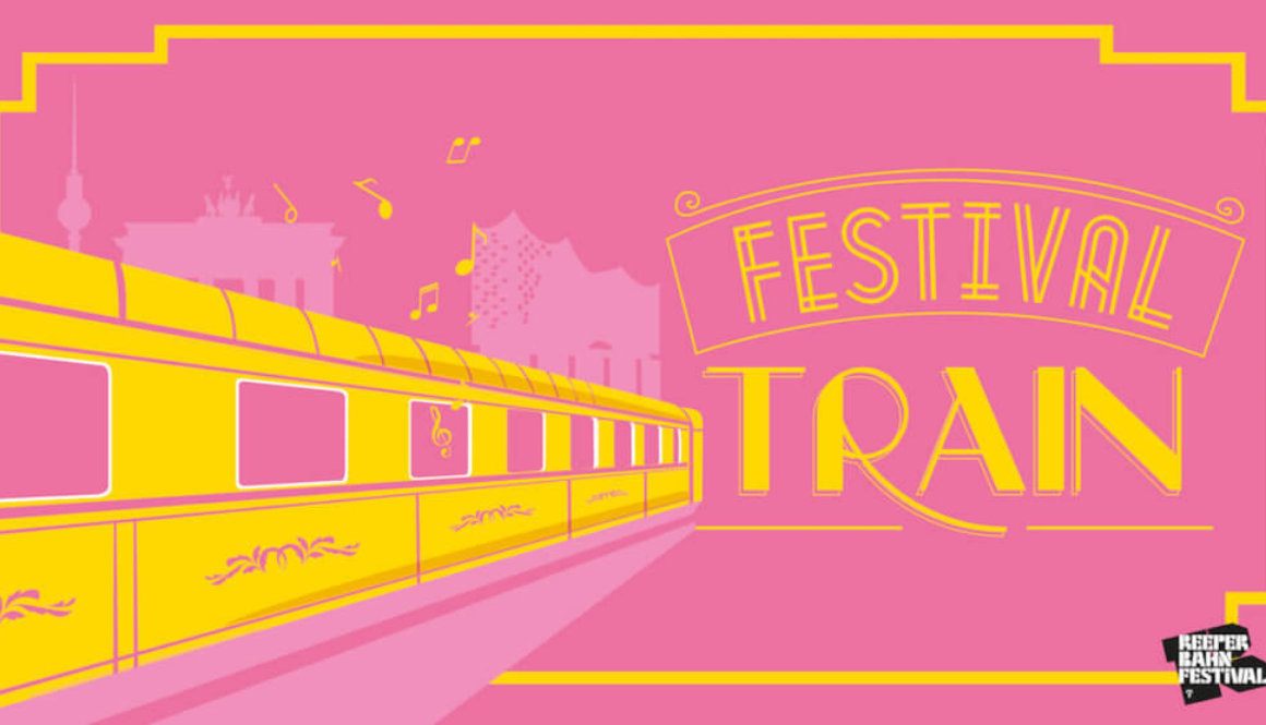 Zug, Hamburg, Berlin, Berlin Experience, Delegates, Festival Train