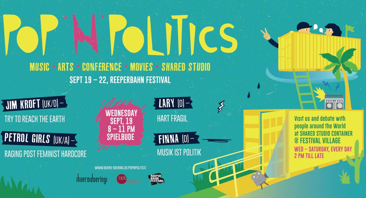 Pop 'n' Politics 2018   Reeperbahn Festival   buero doering