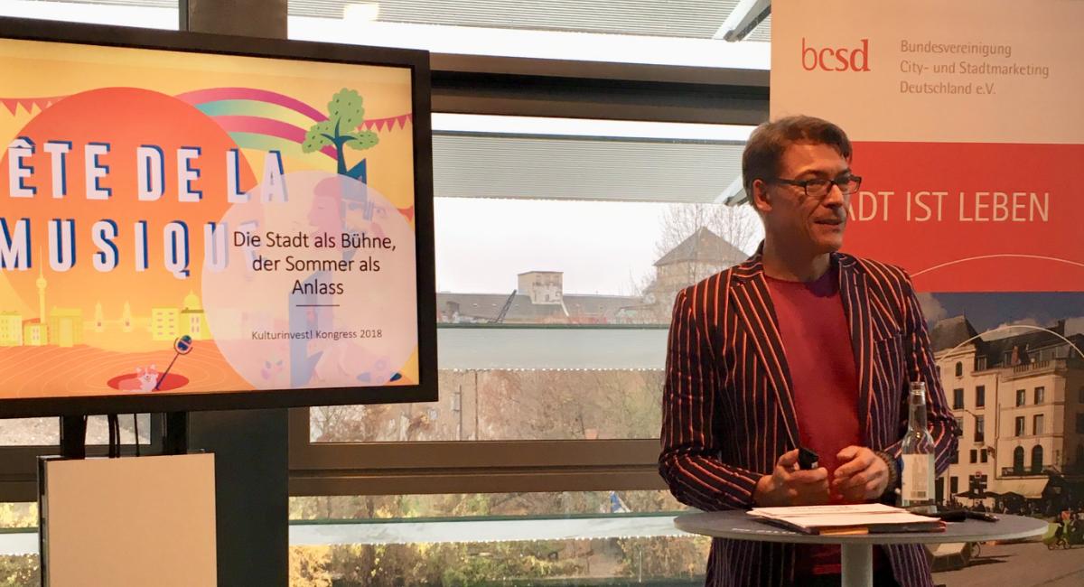 Jahresrückblick 2018, Kulturkongress, Kulturinvest, Gala, Konferenz, Moderation, Björn Döring, Fête de la Musique, Tag der deutschen Einheit, 1heit, Konzert, Reeperbahn Festival