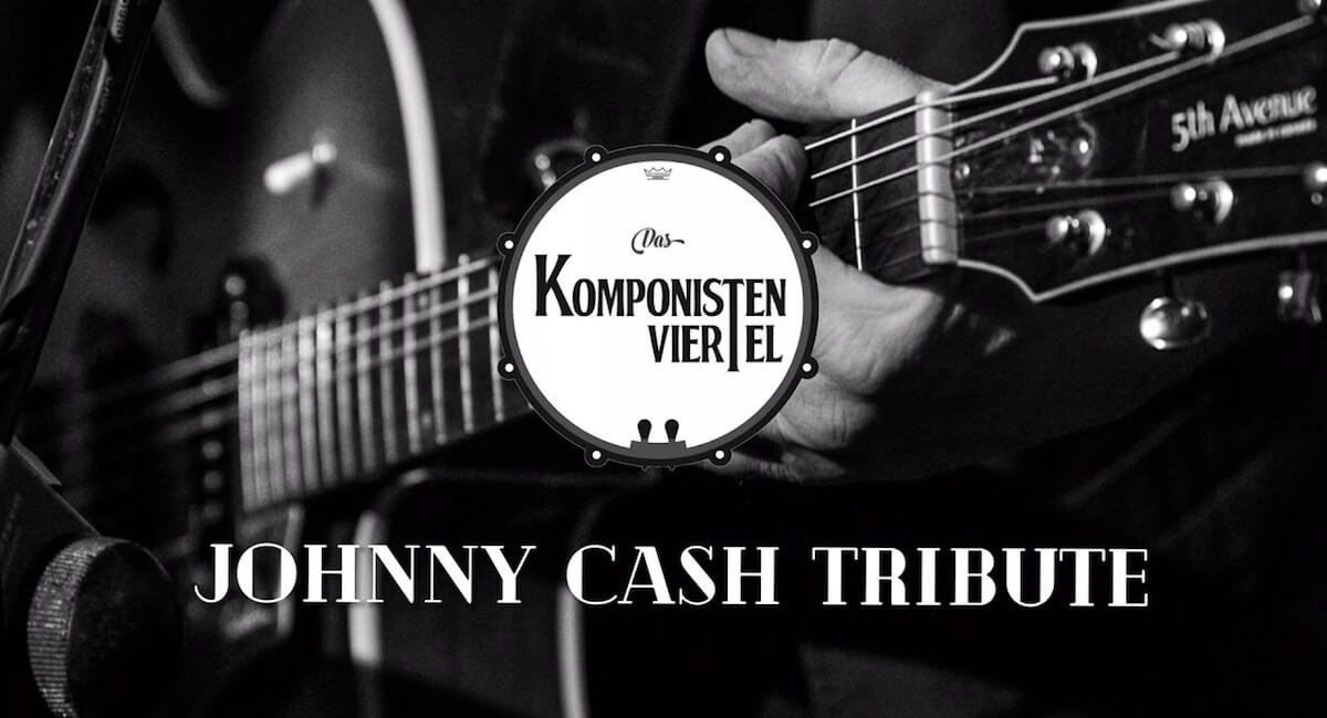 Leichenschmaus, Dinnershow, Dinner Event, Johnny Cash, Tribute, concert. Konzert, Man in Black, Musik, Berlin, Weißensee, Stummfilmkino Delphi Weißensee,