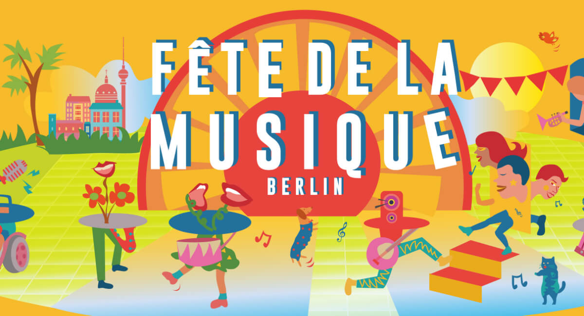 Fete de la Musique Berlin - Key Visual
