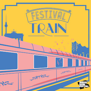 Reeperbahn Festival Train from Berlin to Hamburg | by buero doering - Fachhandel für Ereignisse
