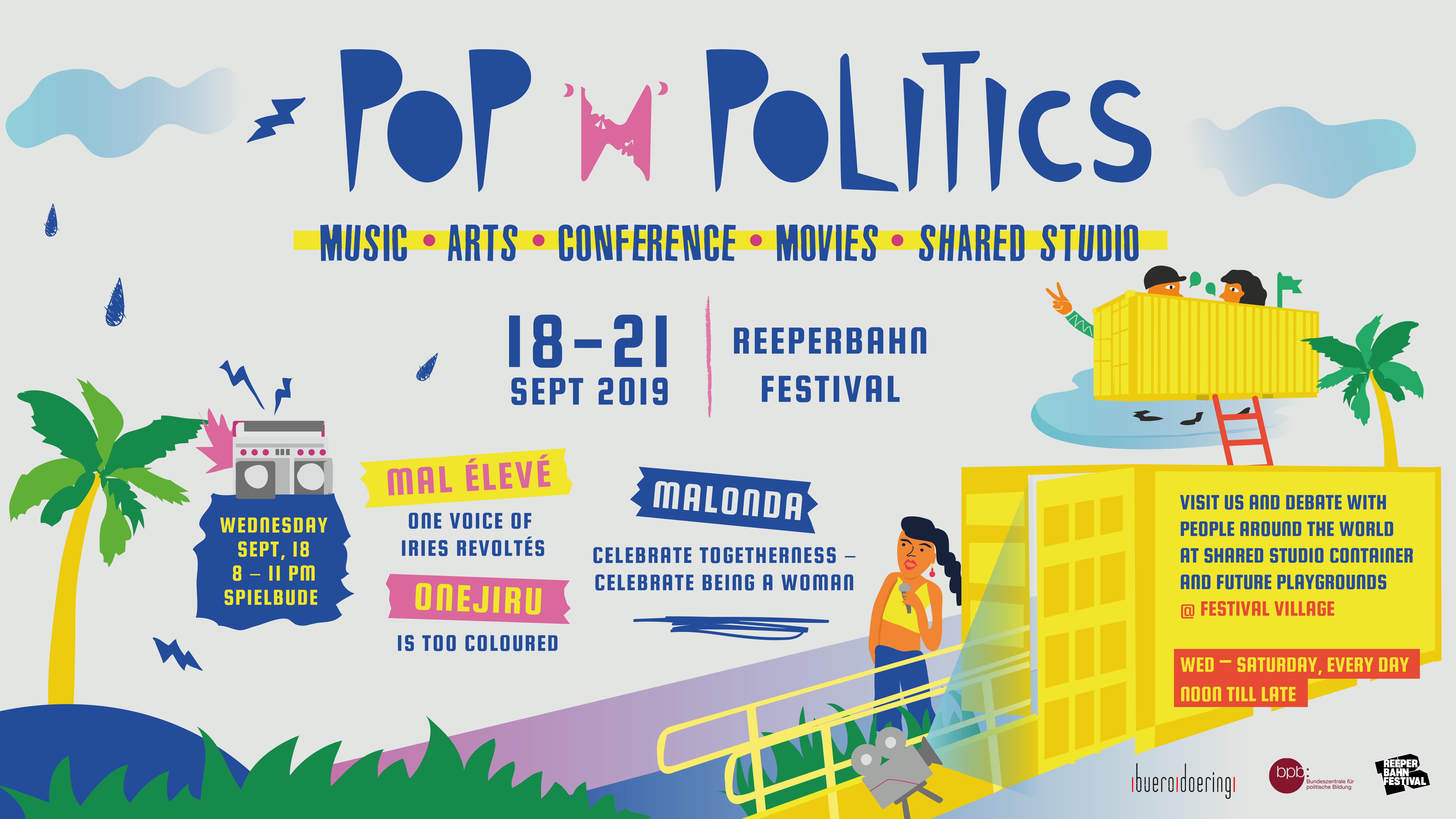 Pop'n'politics at Reeperbahn Festival