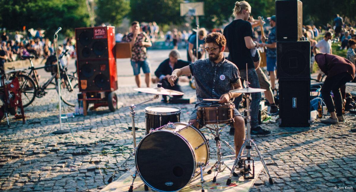 Fete de la Musique, Jubiläum, Fete 25 Jahre, 25 Jahre, Fete Berlin, 2020, 21. Juni, Berlin Fest