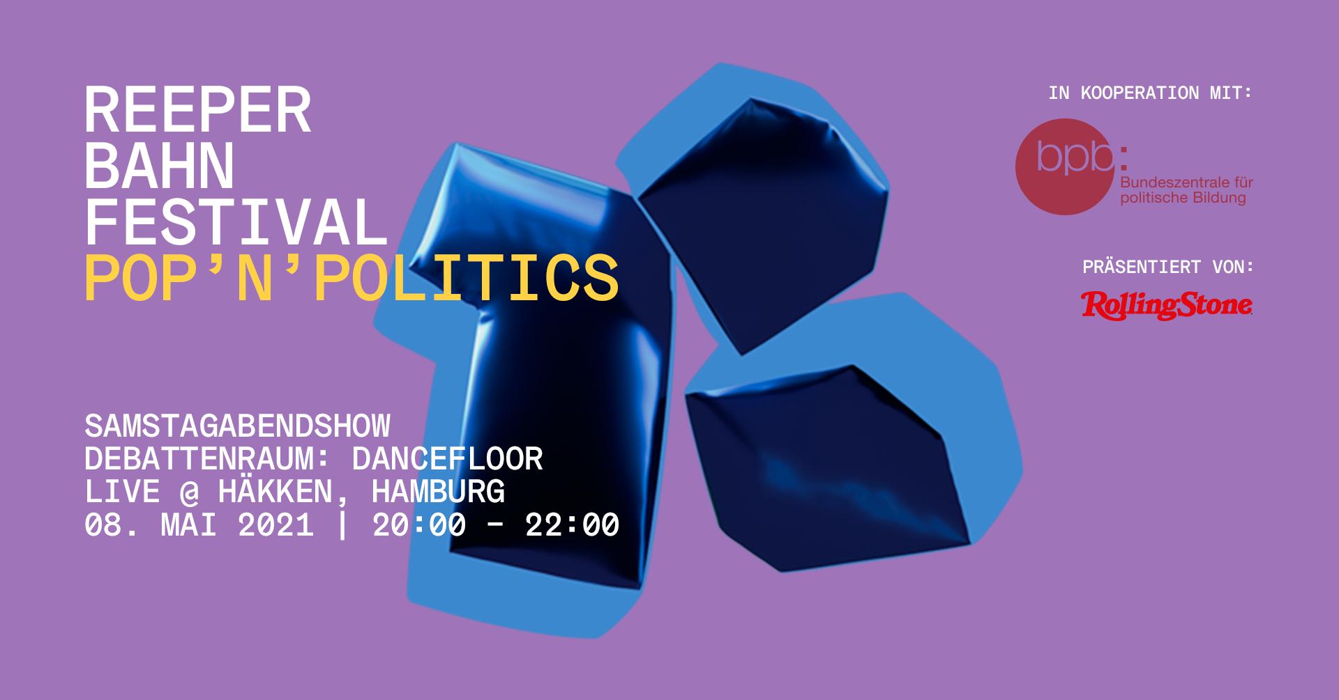 pop'n'politics Online Edition 2021