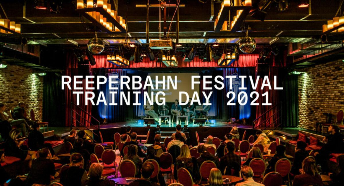 Reeperbahn Festival Training Day 2021 (c) Jim Kroft